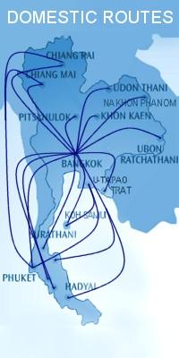 THAILAND INLAND FL�GE G�NSTIG BUCHEN | Thai Domestic Fligths - Flugtickets Bangkok,Phuket,Samui,Chiang-Mai