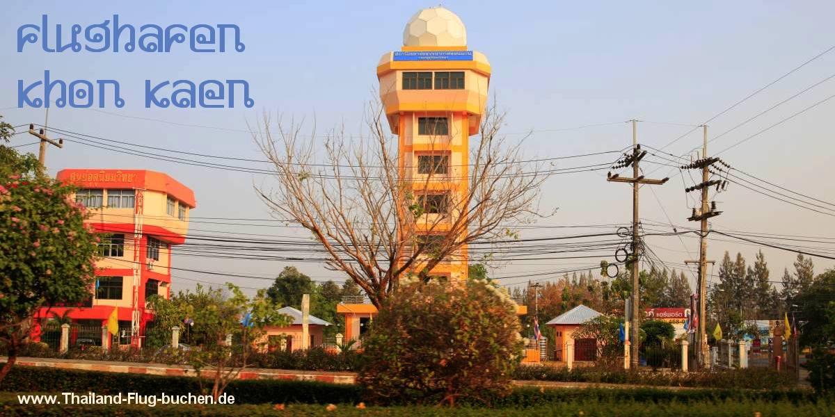 Flughafen Tower Khon Kaen Airport