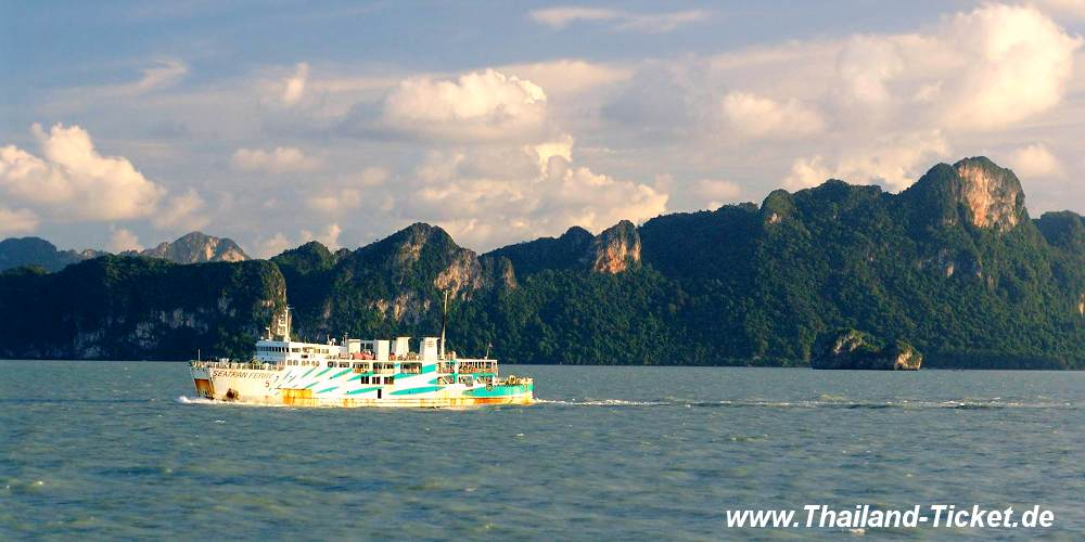 Seatran Ferry Koh Samui - Surat Thani